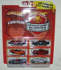 2009 Hot Wheels Valentine Day Exclusive Special Edition Set