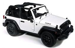 2014 Jeep Wrangler Willys White 1/18 by Maisto 31610