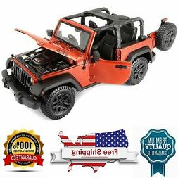 2014 Jeep Wrangler Willys Open Top MAISTO Diecast 1:18 Scale