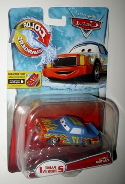 2015 Disney Cars Color Changers DARRELL CARTRIP 2 Paint Jobs