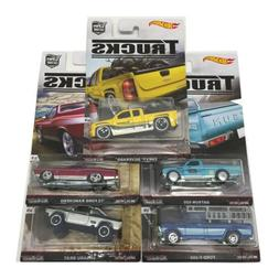 Hot Wheels 2016 Car Culture Trucks C Case Set of 5 Cars DJF7