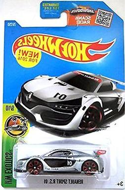Hot Wheels 2016 HW Exotics Renault Sport R.S. 01 79/250, Sil