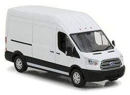 2017 Ford Transit LWB High Roof Oxford White 1/43 Diecast Mo