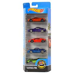 Hot Wheels 2017 HW Exotics 5-Pack