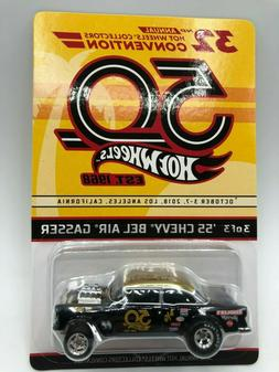2018 Hot Wheels 32nd Convention #3 Finale Car '55 Chevy Be