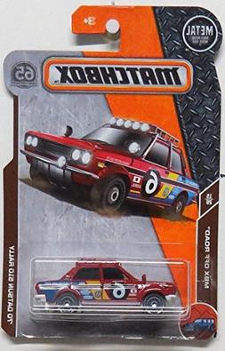 Matchbox 2018 MBX Off Road - '70 Datsun 510 Rally