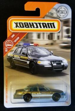 2019 MATCHBOX 06 FORD CROWN VICTORIA POLICE #56 MBX RESCUE 1