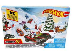 Hot Wheels 2019 Advent Calendar Vehicles Collectible Gift Ma