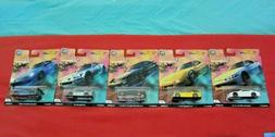 HOT WHEELS 2019 CAR CULTURE STREET TUNERS - SET OF 5 - FPY86