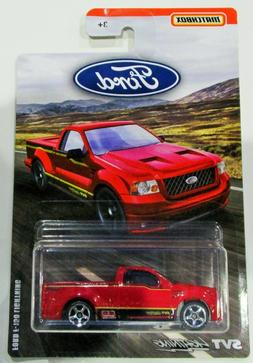 Matchbox 2019 ford truck series ford F-150 SVT lightning red