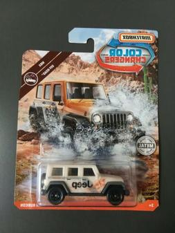 2019 MATCHBOX JEEP WRANGLER RUBICON COLOR CHANGERS MBX OFF-R