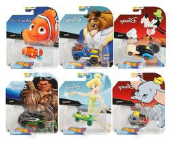 2019 Hot Wheels Set of 6, Disney Pixar Character Cars Series