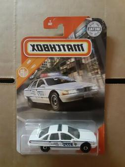 2020 Matchbox Chevy Caprice Classic Police City 7/100 NYPD