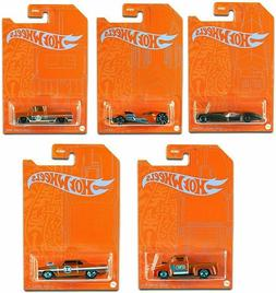 2021 Hot Wheels 5/5 Orange & Blue Series CUSTOM CADILLAC FLE