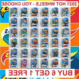 2021 Hot Wheels Cars Main Line Series Newest Cases You Pick