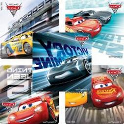 25 Disney Cars 3 Stickers Party Favors Teacher Supply Race L