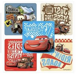 25 Disney Cars RULE THE ROAD Stickers Party Favors Lightning