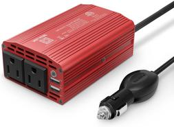 300W Power Inverter Dc 12V To 110V Ac Car Inverter With 4.2A