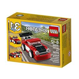 LEGO 31055 CREATOR 3 IN 1 RED RACER CAR * NEW * IN EXCELLENT