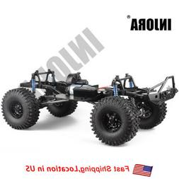313mm WB RC Crawler Car Frame Chassis with wheel for 1/10 Ax