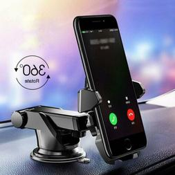 360° Car Phone Holder Windshield Dash Suction Cup Mount Sta