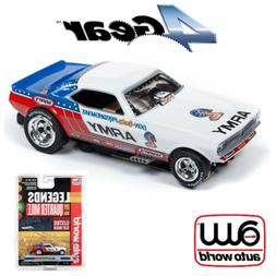 Auto World 4Gear R22 Don Prudhomme US Army '73 Plymouth Cuda