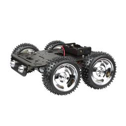 4wd obstacles crossing robot smart car chassis