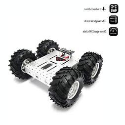 4WD Robot Chassis Kit Smart Off-Road Car Kit Robot Car Alumi