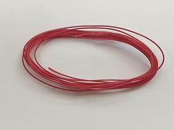 5 feet red spark plug wire