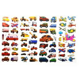 5sheets/set 3D Cartoon <font><b>Transport</b></font> <font><
