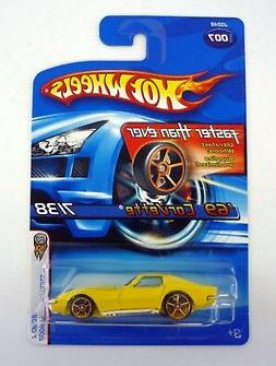 HOT WHEELS '69 CORVETTE #007 2006 First Editions Die-Cast Ca