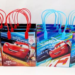 6x Disney Cars Goodie Gift Bags Party Favors Candy Loot Trea