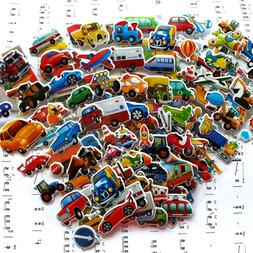 7*17cm 6PCS / lot Mixed Cartoon Bubble Stickers <font><b>Tra