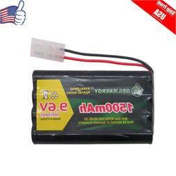 1x 9.6V 1500mAh 8AA Rechargeable Battery For RC Car Boats Wi