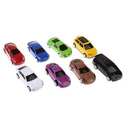 8PCS Pull Back Cars Assorted Mini Vehicles Play Fun Toy for