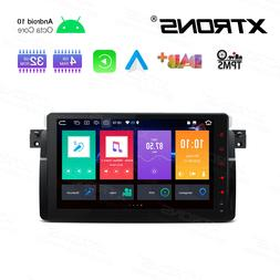"""9"""" Android 10 Car Stereo GPS Radio Sat WIFI 8Core for BMW E4"""