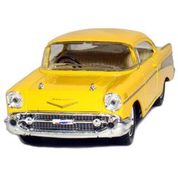 "Castle Toys Box: 5"" 1957 1:40 Scale Chevy Bel Air Coupe Vehi"