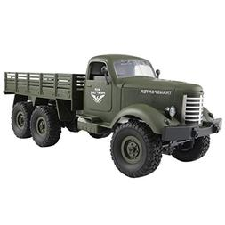 Children Toys,Dartphew 1Pcs Tracked Off-Road Military Truck