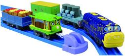 Chuggington Plarail Brewster and Zephie with Freight Cars Se