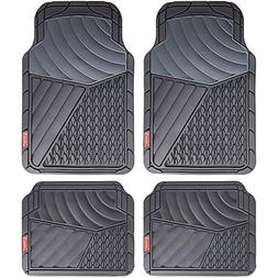 Coleman 4 Piece All-Weather Rubber Floor Mats – Premium He