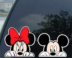 Crawford Graphix Mickey Mouse and Minnie Mouse Combo - Windo