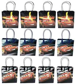 6pcs MCQUEEN CARS DISNEY MEDIUM REUSABLE PARTY FAVOR GOODIES BAG PREMIUM QUALITY