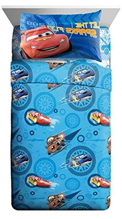 Disney/Pixar Cars City Limits 4 Piece Full Sheet Set