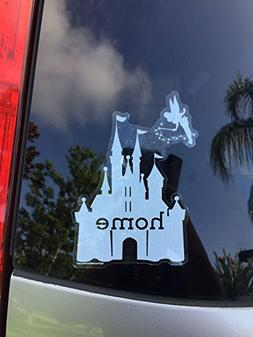 Disney is My Home Car Decal, UV Resistant, Outdoor Automotiv