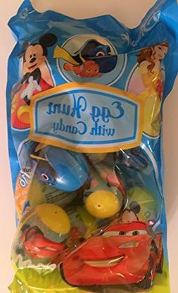 Egg Hunt with Candy Disney 16 Plastic Eggs with Candy Charac