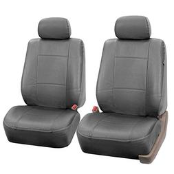 FH-PU002102 Classic PU Leather Pair set Car Seat Covers, Air