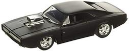 Fast & Furious F7- Dom's 1970 Dodge Charger Street Matte Bla