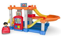 Fisher Price CHF61 Little People Rollin' Ramps Garage Baby T