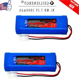 GEILIENERGY 7.2V 3800mAh High Power Rechargeable NiMH Batter