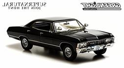 "Greenlight 1967 Chevy Impala ""Supernatural"" TV Show"" 1:18 Sc"